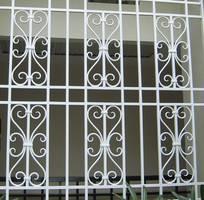 6 Mẫu cửa sổ sắt đơn giản, cửa sổ sắt phong cách hiện đại