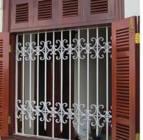 12 Cửa sổ sắt đẹp, cửa sổ bảo vệ, cửa sổ sắt mỹ thuật
