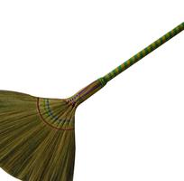 5 Chổi bông cỏ, chổi cỏ cán nhựa, chổi dừa