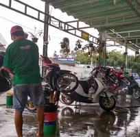 Rửa xe sach nhất Hóc Môn - Rửa xe Bích Thu
