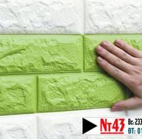 1 Xốp dán tường 3d - giá 43k/tấm - Tổng phân phối tại Đà nẵng