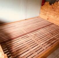 1 Bán giường gỗ ngo Mỹ nghệ