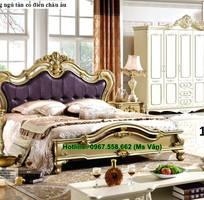 3 Mẫu giường phòng ngủ tân cổ điển kiểu châu âu đẹp nhất