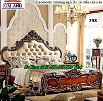 6 Mẫu giường phòng ngủ tân cổ điển kiểu châu âu đẹp nhất
