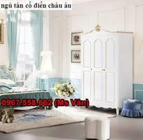 13 Mẫu giường phòng ngủ tân cổ điển kiểu châu âu đẹp nhất