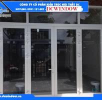1 Cửa nhôm Xingfa kính cường lực DC - dcwindow