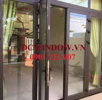 2 Cửa nhôm Xingfa kính cường lực DC - dcwindow