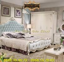 5 Giường ngủ tân cổ điển giá rẻ - giường ngủ phong cách cổ điển Châu Âu q2, q7