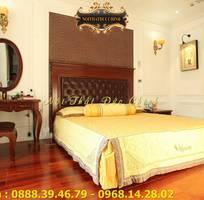 13 Giường ngủ tân cổ điển giá rẻ - giường ngủ phong cách cổ điển Châu Âu q2, q7