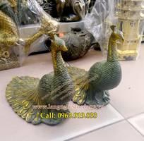 1 Chim công giả cổ, giá tượng chim công, bán tượng chim công