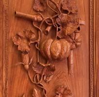 1 Bộ trầm giao - Phù điêu đồng quê bằng gỗ đẹp