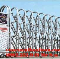 Thi công lắp đặt hoàn thiện cửa cổng , cổng xếp công ty , khu công nghiệp đồng nai