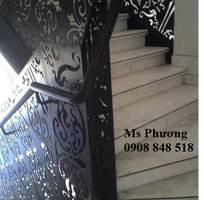 15 Thiết kế, gia công cnc lan can cầu thang sắt nghệ thuật uy tín, chất lượng HCM