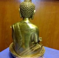 2 Tượng phật dược sư cao 23cm bằng đồng, tuong phat bang dong