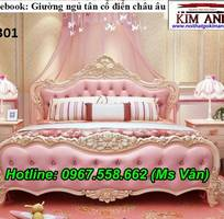2 Giường ngủ cổ điển cao cấp - đặt mua bộ phòng ngủ phong cách hoàng gia quá xinh