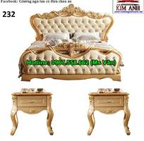 7 Giường ngủ cổ điển cao cấp - đặt mua bộ phòng ngủ phong cách hoàng gia quá xinh
