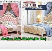 11 Giường ngủ cổ điển cao cấp - đặt mua bộ phòng ngủ phong cách hoàng gia quá xinh
