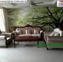 6 Sofa tân cổ điển tphcm - xưởng sản xuất ghế cổ điển phong cách châu âu