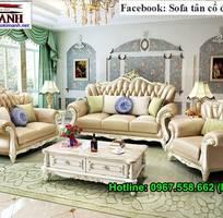 13 Sofa tân cổ điển tphcm - xưởng sản xuất ghế cổ điển phong cách châu âu