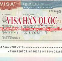 Dịch vụ làm visa Hàn Quốc thành công 99
