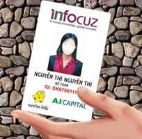 1 HOMAX In thẻ nhựa: thẻ VIP card, thẻ nhân viên... giá RẺ tại Hà Nội