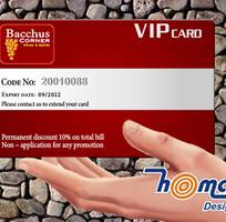 3 HOMAX In thẻ nhựa: thẻ VIP card, thẻ nhân viên... giá RẺ tại Hà Nội