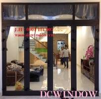 Cửa nhôm Xingfa kính cường lực DCWINDOW - Đà Nẵng