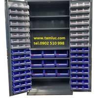 2 Tủ dụng cụ kết hợp với bảng treo chất lượng.
