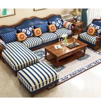 11 Sofa góc L tân cổ điển giá rẻ tại tphcm, bộ sofa chữ L cổ điển mua ở đâu tại Binh Dương