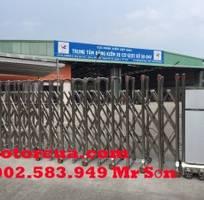 Cửa cổng , cổng xếp inox khu công nghiệp đồng nai , long khánh