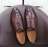 1 Giày buộc dây nam, giày da nam công sở cao cấp