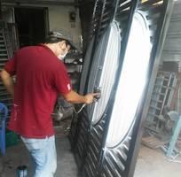 1 Sơn cửa sắt tại nhà quận Bình Tân chuyên nghiệp