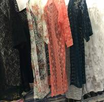 Bán buôn áo khoác ren cao cấp dáng dài dành cho shop