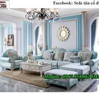 1 Xưởng sản xuất sofa tân cổ điển góc L giá rẻ giao hàng toàn quốc