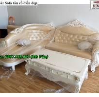 3 Xưởng sản xuất sofa tân cổ điển góc L giá rẻ giao hàng toàn quốc