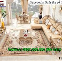 16 Xưởng sản xuất sofa tân cổ điển góc L giá rẻ giao hàng toàn quốc