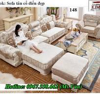 19 Xưởng sản xuất sofa tân cổ điển góc L giá rẻ giao hàng toàn quốc