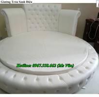14 Chuyên bán giường ngủ hình tròn cực đẹp thiết kế theo yêu cầu