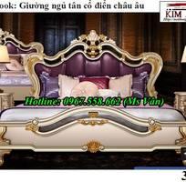 1 Giường ngủ cổ điển châu âu giá rẻ - những mẫu giường cổ điển đẹp