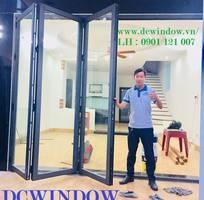 Cửa nhôm Xingfa kính cường lực tại Đà Nẵng -DCWINDOW