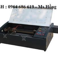 1 Máy laser mini 3020 khắc dấu siêu đỉnh