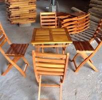 Bàn ghế gỗ cafe giá rẻ, xưởng sản xuất bàn ghế gỗ