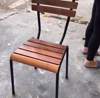 6 Bàn ghế gỗ cafe giá rẻ, xưởng sản xuất bàn ghế gỗ