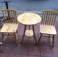 7 Bàn ghế gỗ cafe giá rẻ, xưởng sản xuất bàn ghế gỗ