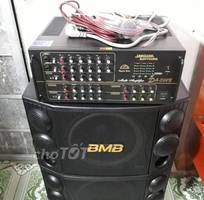 Dàn karaoke 506N 16 sò và BMB 2000 bãi và míc