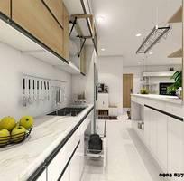 6 Mẫu tủ bếp nhỏ xinh được ưa chuộng nhất hiện nay