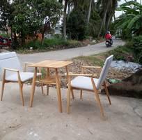 6 Bàn ghế cafe, bàn ghế nhà hàng, bàn ghế gỗ quán cafe giá rẻ