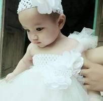 1 Đầm tutu công chúa cho bé dự tiệc sz dưới 10kg