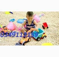 1 Hạt gỗ đồ chơi xúc cát cho bé