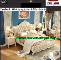 7 Bộ giường tủ màu trắng cổ điển cực đẳng cấp đặt đóng tại xưởng
